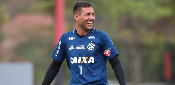 Diego Alves, goleiro do Flamengo