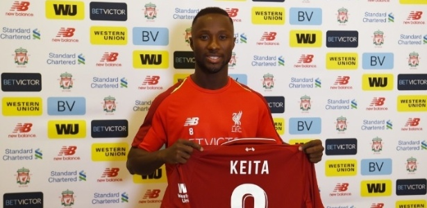 Keita deixou o Leipzig, da Alemanha, e chegou ao Liverpool um ano depois de pré-acordo