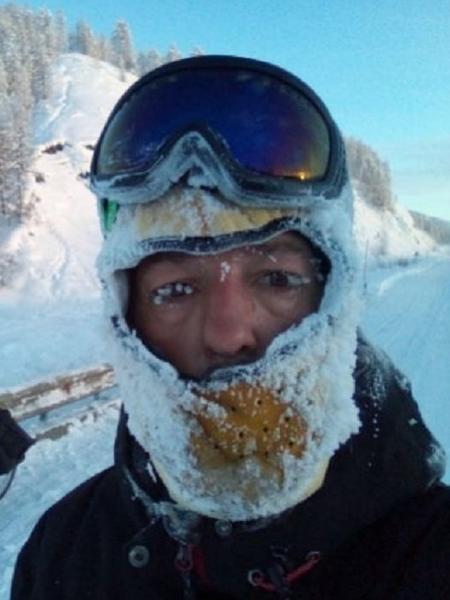 José Andrés Abián falhou na primeira tentativa de cruzar a Sibéria - Arquivo Pessoal