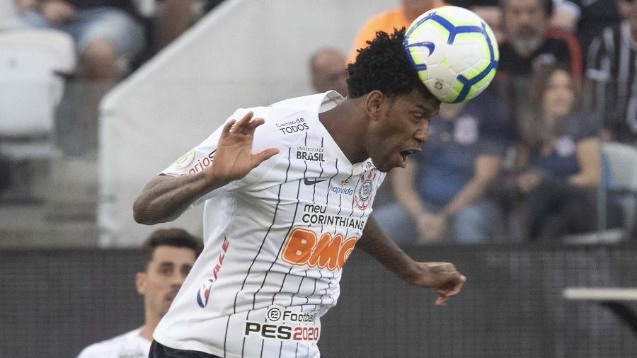 Zagueiro de 32 anos atuou em cinco partidas seguidas desde a estreia pelo Corinthians, em 14 de julho - Daniel Augusto Jr./Agência Corinthians