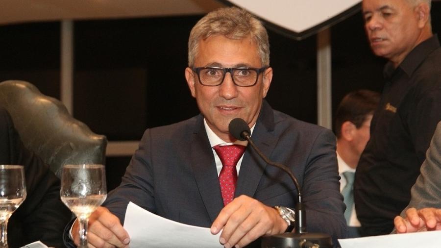 """Alexandre Campello, presidente do Vasco e da comissão de clubes na CBF: """"Vamos conversar com a Globo"""" - Paulo Fernandes / Vasco"""