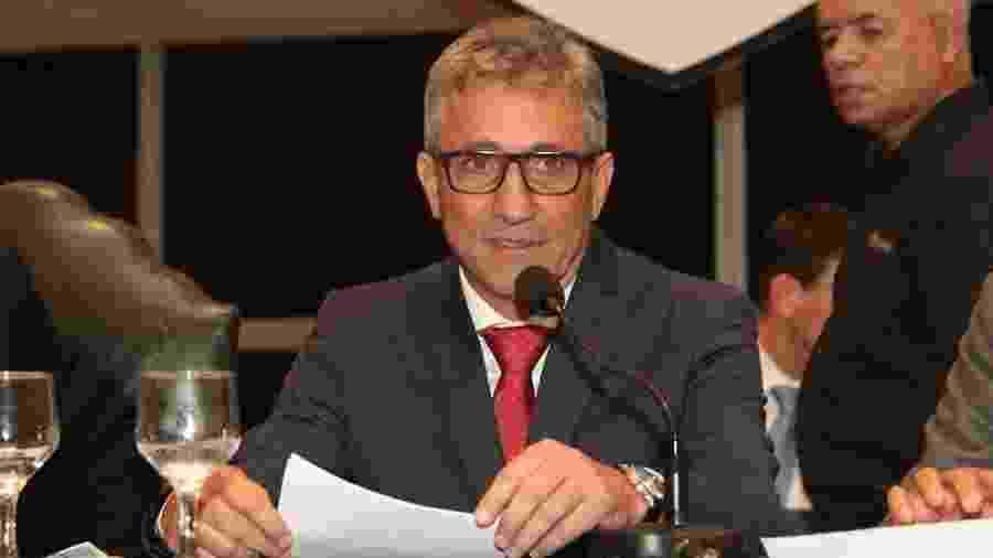 Presidente do Vasco, Alexandre Campello tem sido alvo de críticas dos torcedores - Paulo Fernandes / Vasco