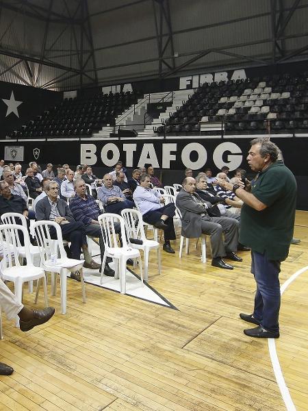 Conselho do Botafogo aprovou projeto de clube-empresa que ainda não se concretizou - Vitor Silva/Botafogo
