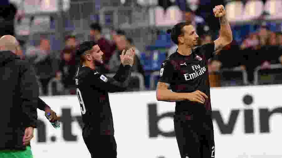 Ibrahimovic não deve renovar contrato com o Milan após desgaste com dirigentes - Enrico Locci/Getty Images