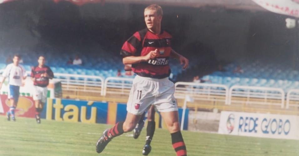 Fabio Augusto começou carreira na base do Flamengo