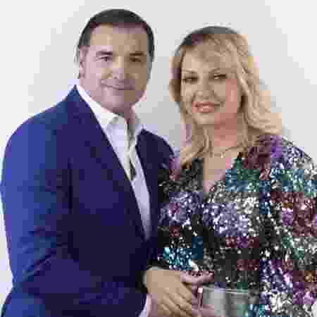 """Lorenzo Amoruso, ex-jogador da Fiorentina, e Manila Nazzaro, Miss Itália de 1999, estarão na nova edição de """"Temptarion Island"""" na Itália - Witty/Divulgação"""
