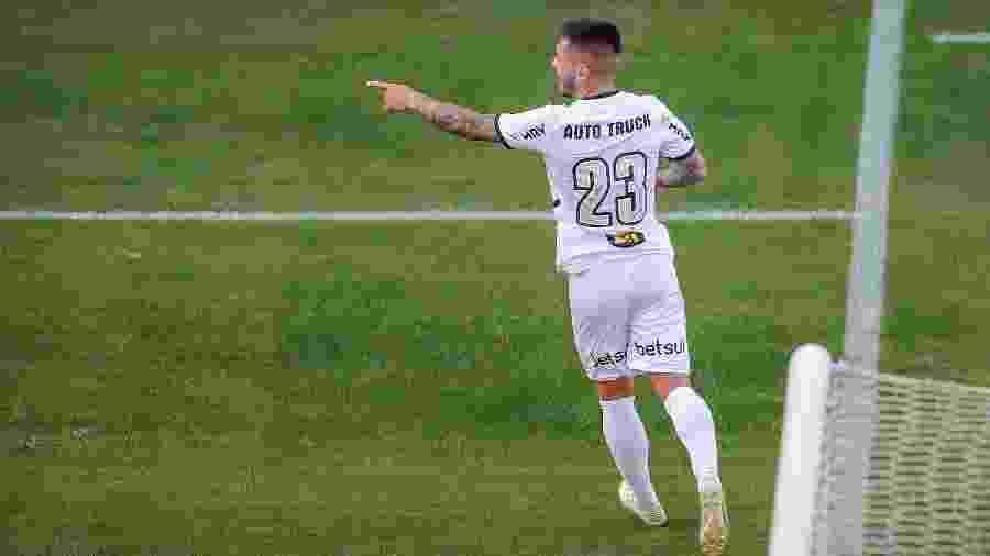 Nathan aponta Kevin De Bruyne, craque do Manchester City, como espelho no Atlético-MG - Bruno Cantini/Atlético-MG
