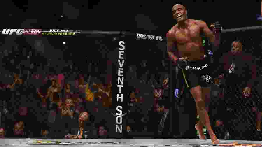 Anderson Silva faz a última luta da carreira contra o jamaicano Uriah Hall - Jeff Bottari/Zuffa LLC via Getty Images