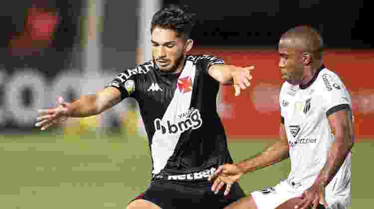 Andrey tenta domínio durante Vasco x Ceará pelo Brasileirão 2020 - Jorge Rodrigues/AGIF - Jorge Rodrigues/AGIF