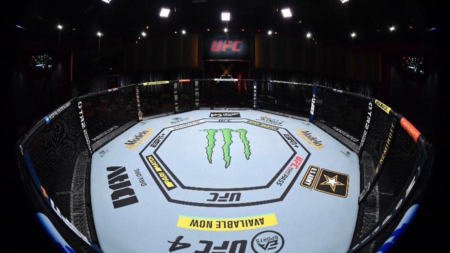 Octógono do UFC em Las Vegas, nos Estados Unidos - Jeff Bottari/Zuffa LLC