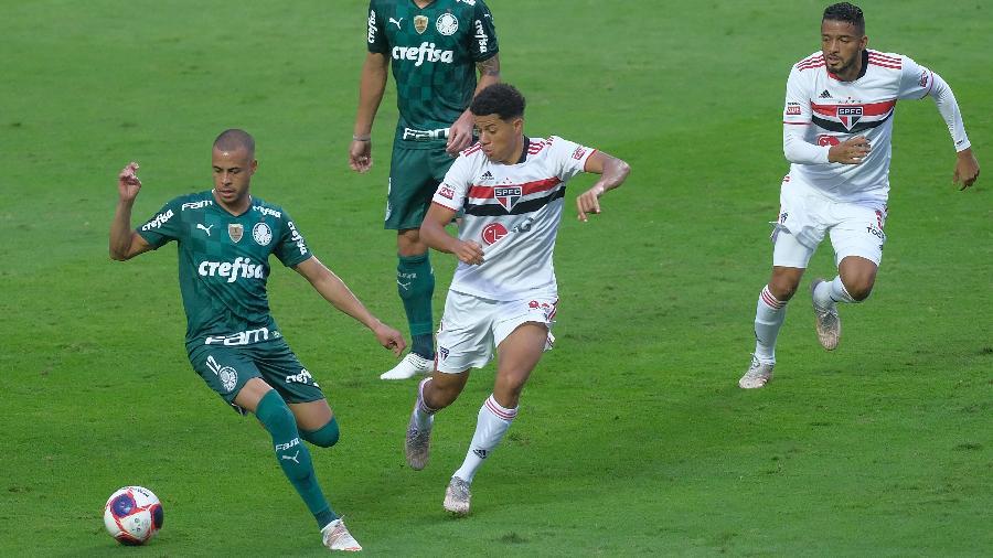 São Paulo x Palmeiras: quem tem o melhor time? Vote posição por posição! - Marcello Zambrana/AGIF