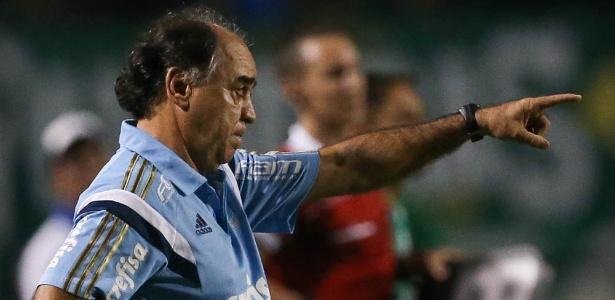 Marcelo chegou ao Palmeiras em junho e comandou o time em 45 jogos