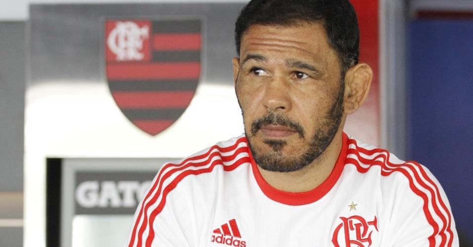 Minotouro se mostrou surpreso com a estrutura do Centro de Excelência em Performance do Flamengo