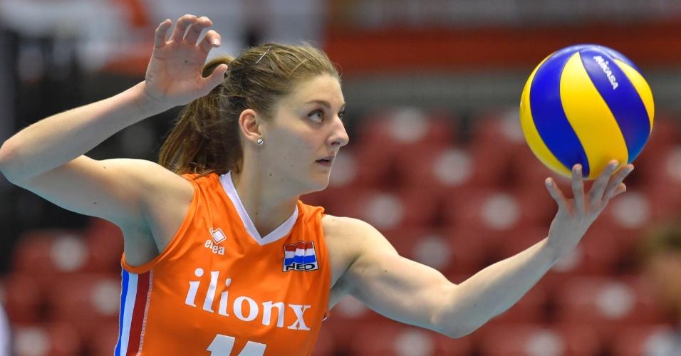 Anne Buijs, atleta da seleção holandesa de vôlei