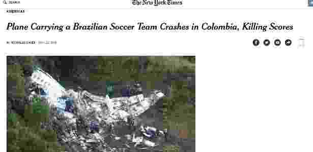 The New York Times - Reprodução/New York Times - Reprodução/New York Times