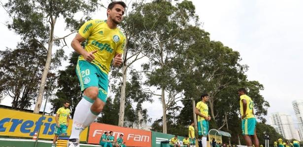 Rodrigo pode fazer o 1º jogo pelo Palmeiras logo na despedida da temporada