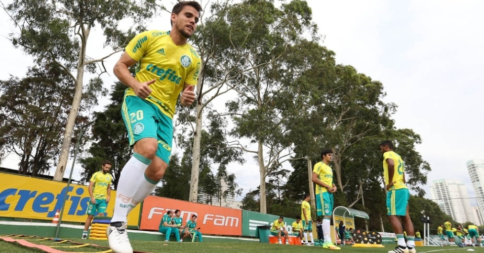 Rodrigo Palmeiras treino