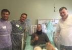 Último sobrevivente no hospital, Follmann terá alta na próxima terça-feira (Foto: Instagram/Reprodução)
