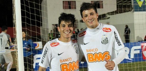 Lucas Otávio e Lucas Crispim foram revelados juntos nas categorias de base do clube