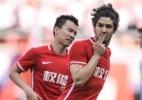 Alexandre Pato comemora vitória e golaço na China: