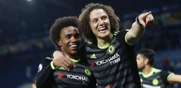 David Luiz foi um dos destaques do Chelsea