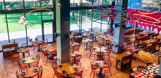 O restaurante de Messi em Barcelona tem área de mais de 1.000 metros quadrados
