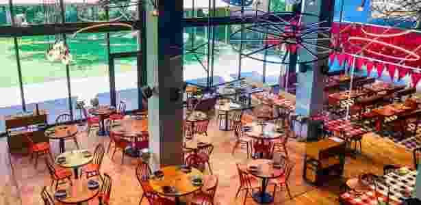 O restaurante de Messi em Barcelona tem área de mais de 1.000 metros quadrados - Divulgação
