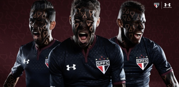 Terceira camisa do São Paulo lançada nesta temporada