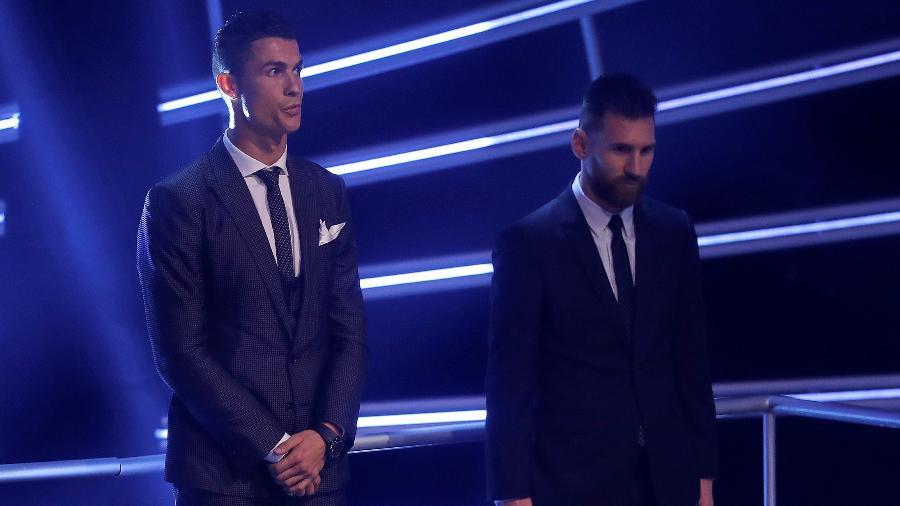 Messi e Cristiano Ronaldo fazem um duelo particular na temporada - Eddie Keogh/Reuters