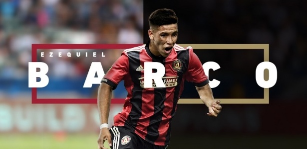 Barco foi anunciado nesta sexta-feira como novo reforço do Atlanta United