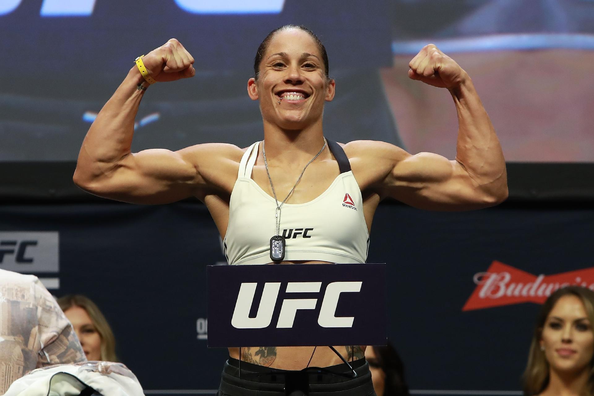 0ea576708 A lutadora norte-americana Liz Carmouche