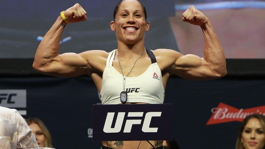 A lutadora norte-americana Liz Carmouche - Michael Reaves/Getty Images