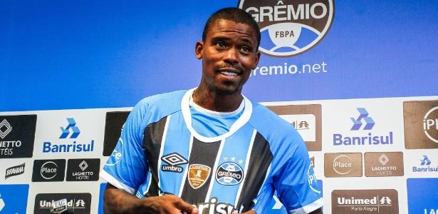 Maicosuel luta por vaga no time titular do Grêmio neste sábado contra o Veranópolis - Lucas Uebel/Grêmio