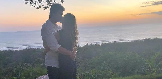 Tom Brady publica foto de férias com Gisele Bündchen na Costa Rica