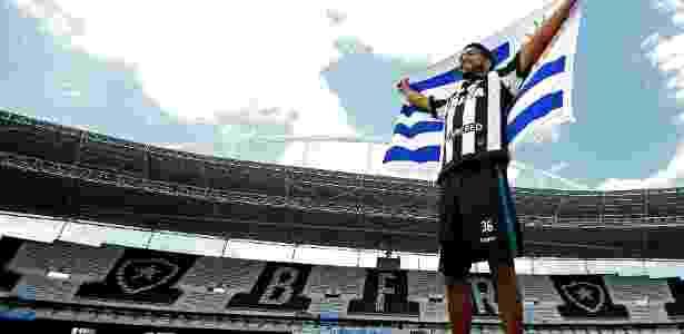 Contratação de atacante uruguaio Rodrigo Aguirre mexeu com a torcida do Botafogo - Vitor Silva/SSPress/Botafogo
