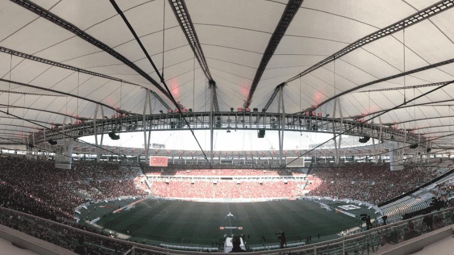 Maracanã está no centro da disputa entre Odebrecht e Governo do Rio - Divulgação/CR Flamengo