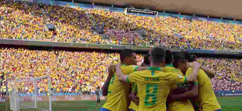 Há ingressos para todos os oito jogos restantes na Copa América - Thiago Calil/Agif