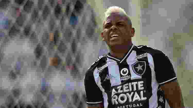 Site de apostas na parte da frente superior da camisa do Botafogo - Dhavid Normando/Futura Press/Estadão Conteúdo