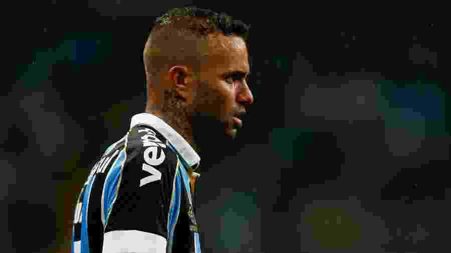 Luan em ação pelo Grêmio; reforço do Corinthians, jogador foi a principal contratação dos grandes da capital paulista - Jeferson Guareze/AGIF
