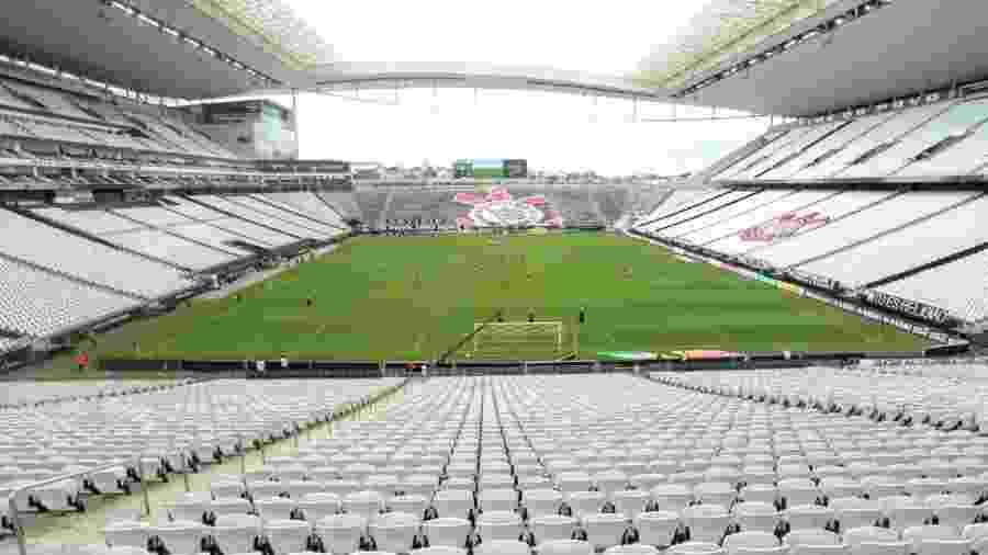 Arena Corinthians teve portões fechados para o confronto Corinthians x Ituano - Rodrigo Coca/Ag. Corinthians