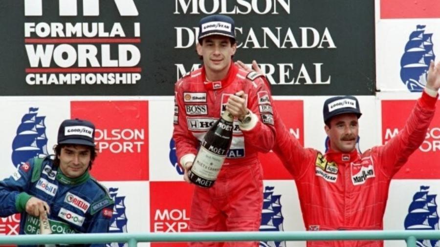 Senna é eleito o melhor piloto da história por ex-colega de pistas - Arquivo