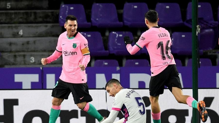 Barcelona e Real Valladolid se enfrentam pelo Campeonato Espanhol -  Octavio Passos/Getty Images