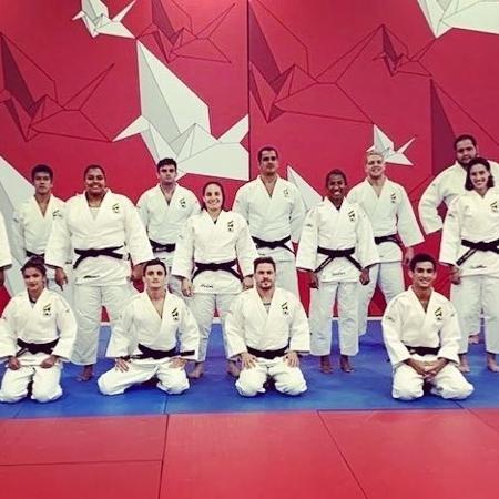 Seleção brasileira de judô que disputou o Masters - Reprodução