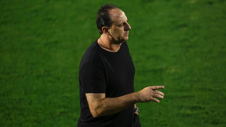 Rogério Ceni lamentou empate do Flamengo com o Red Bull Bragantino pelo Campeonato Brasileiro - Diogo Reis/Diogo Reis/AGIF
