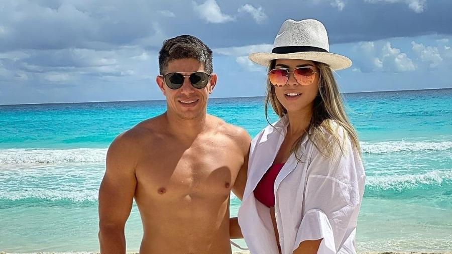 Dario Conca e Miriã Rocha reatam namoro após denúncias de traição e relacionamento abusivo - Reprodução/Instagram/@concaoficial