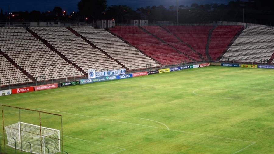 Arena do Jacaré, em Sete Lagoas-MG, receberá pelo menos mais um jogo do Cruzeiro na Série B de  2021 - Gustavo Aleixo/Cruzeiro