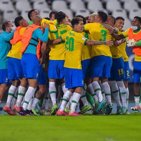 Brasil conseguiu a virada nos acréscimos - Thiago Ribeiro/AGIF