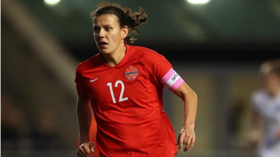 Christine Sinclair está a dois gols do recorde de Cristiane nos Jogos Olímpicos - Getty Images