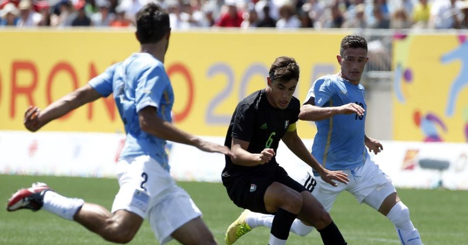 Uruguai e México disputam a medalha de ouro no futebol dos jogos Pan-Americanos de Toronto