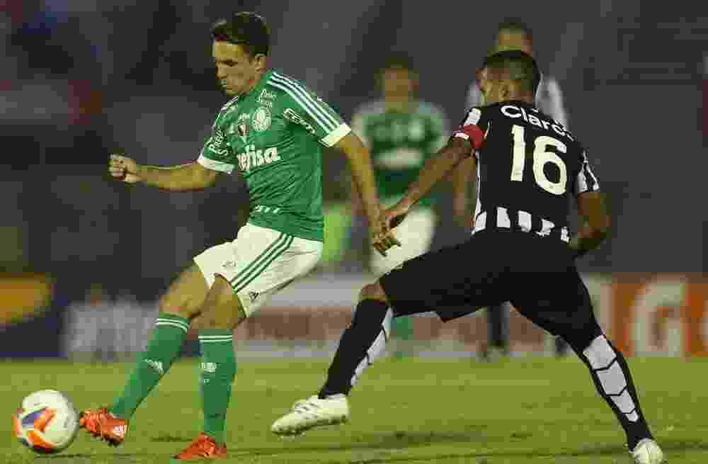 Allione entrou no segundo tempo e marcou o primeiro gol do Palmeiras diante do Libertad - Cesar Greco/Ag Palmeiras